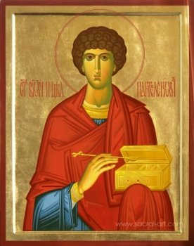 Icon of Saint Eearly times Martyr Panteleimon