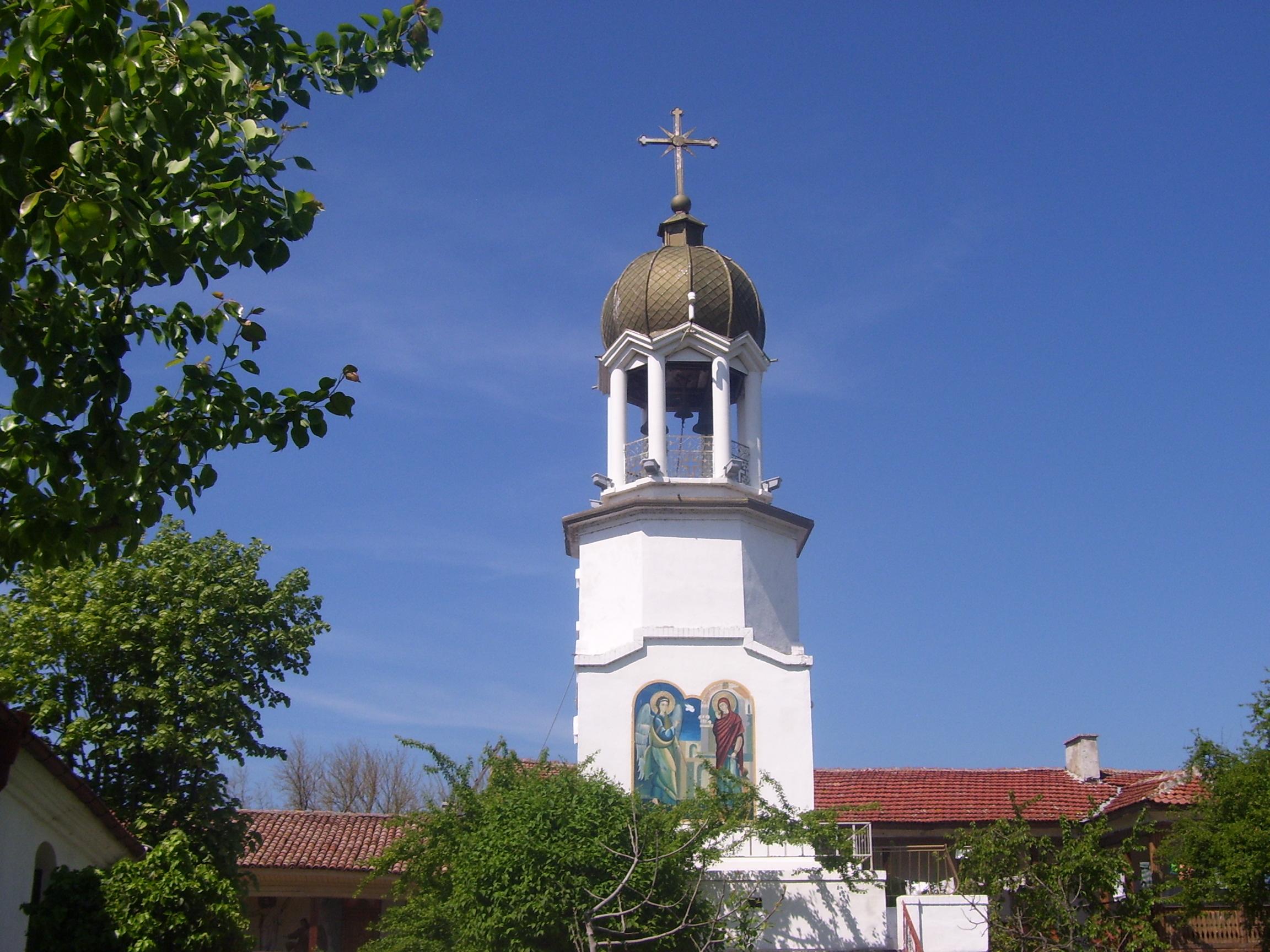 Поморийски Манастир Камбанария Аязмо, holy spring pomorie monastery bell tower