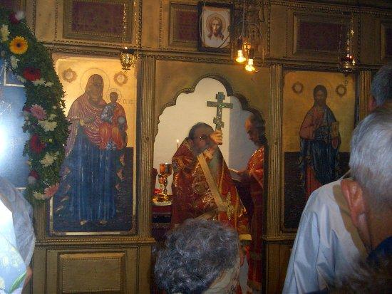 Храмов Празник Георгиовден Света Литургия, дядо Йоаниникий, Church feast saint George's day bishop Holy Liturgy