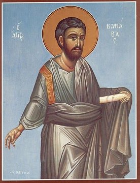 Saint Varnava of the 70 apostles of Lord Jesus Christ an orthodox Christian icon