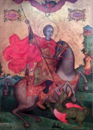 pomorie monastery st george miracle making icon
