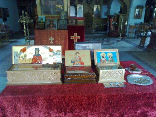 pomoriiski mansatir holy relics